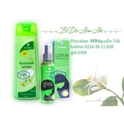 dầu gội hoa bưởi - lotion dưỡng tóc