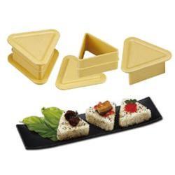 Khuôn sushi hình tam giác DIY