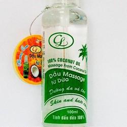 Dầu dừa Massage - chai 100ml