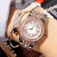 Đồng hồ nữ cao cấp Mashali  nạm đá, vòng tay, lắc dây sale