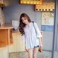 áo xòe tay loe thời trang  tb0197