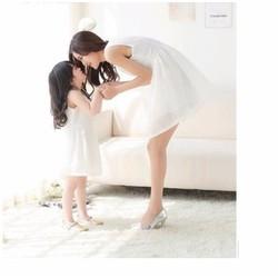 Đầm mẹ và bé