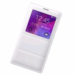 Bao da chính hãng Flip Cover S View cho SamSung Galaxy Note 4 N9100,