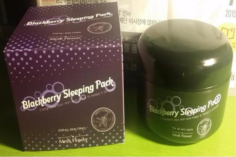 MẶT NẠ NGỦ BLACKBERRY SLEEPING PACK 5