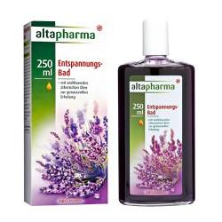 Tinh dầu tắm thảo mộc thư giãn chống cảm cúm của Đức Altapharma, 250ml