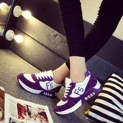 TT015T - Giày thể thao nữ phong cách Hàn Quốc