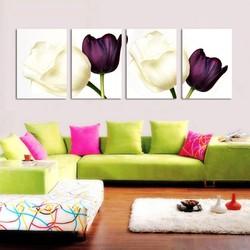 Tranh treo tường hoa tulip