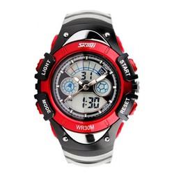 Đồng hồ trẻ em skmei 0998 màu đỏ