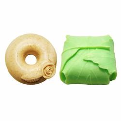 Combo xà phòng cám gạo và trà xanh ecolife