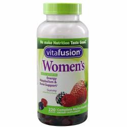 Kẹo Vitamin cho nữ Vitafusion Women's Complete Multivitamin 220 viên