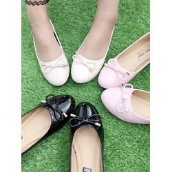 HÀNG NHẬP CAO CẤP - Giày búp bê cột dây