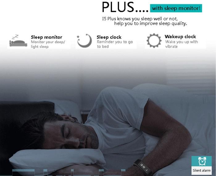 Vòng đeo tay thông minh I5 Plus iWOWN 4