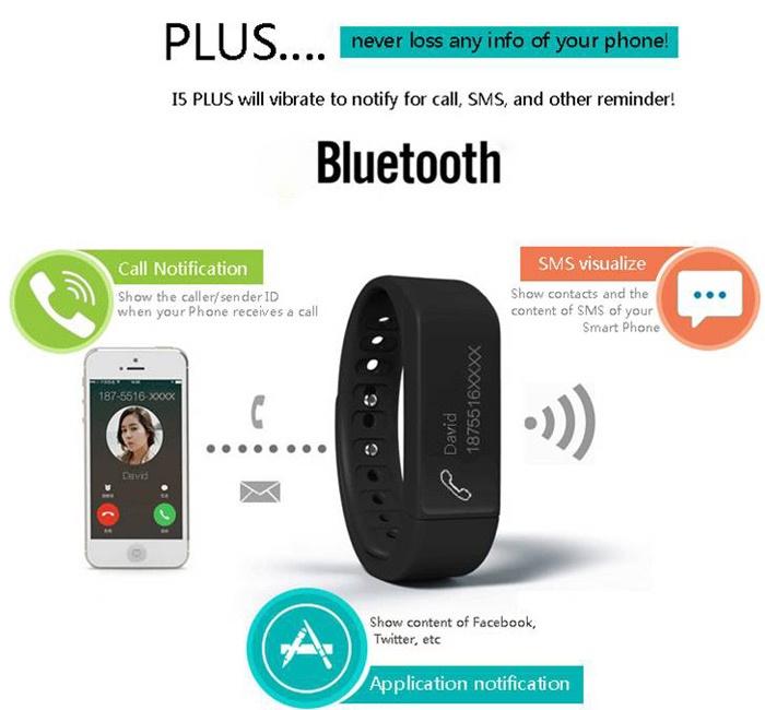 Vòng đeo tay thông minh I5 Plus iWOWN 2