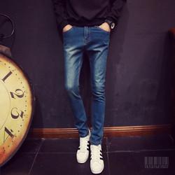 Quần Jeans Nam Thời Trang Cao Cấp MJ26 Xanh