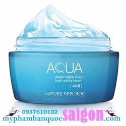 Dưỡng da dầu Super aqua max Fresh watery cream