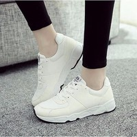 TT003T  -  Giày sneaker nữ phong cách Hàn Quốc