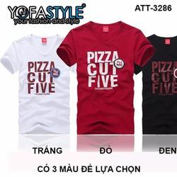 ÁO THUN NAM PIZZA CUT FIVE