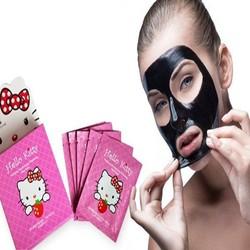 Combo 10 miếng mặt nạ bùn Hello Kitty trắng da và dưỡng ẩm