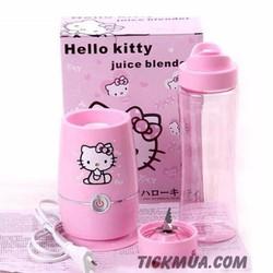 Máy Xay Sinh Tố Hello Kitty Làm Bình Nước Tiện Lợi - GD045