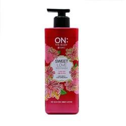 Sữa tắm ON The Body Perfumed Sweet Love Body Wash 900g