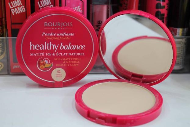 Phấn phủ dạng nén Bourjois Healthy Balance Compact màu 52 Vanilla 2