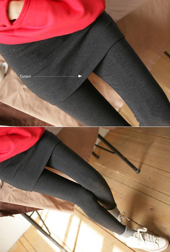 Quần legging thun giả váy thời trang 4