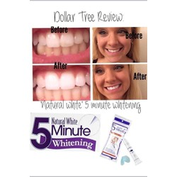 Gel tẩy trắng răng Natural white 5minute Tooth Whitening System