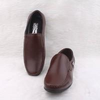 Giày da bò mọi nam Ferragamo