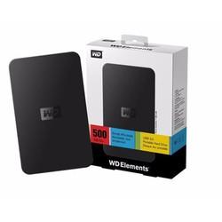 Ổ CỨNG DI ĐỘNG 500GB  WESTERN Elements
