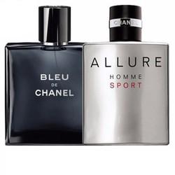 Combo 2 Chai nước hoa Chanel Bleu và Allure homme 100ml