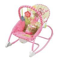 Ghế rung phát nhạc cao cấp Ibaby No 68101 màu hồng