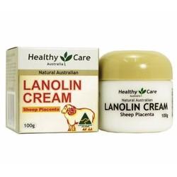 Kem nhau thai cừu HEALTHY CARE LANOLIN CREAM 100G chống sạm nám