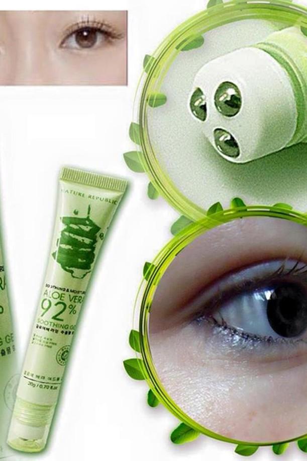 Lăn trị thâm quầng mắt Lô Hội Aloe Vera 92 3
