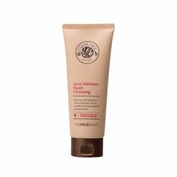 Sữa rửa mặt Clean Face Acne Solution Foam Cleansing The Face Shop