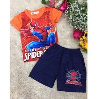 Bộ Spiderman cá tính cho bé trai MV069