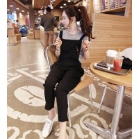quần dài yếm nữ dạo phố Mã: QD355