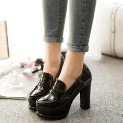 77c30e simg b5529c 250x250 maxb Giày cao gót đế vuông thời trang Hàn Quốc diện ra phố