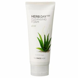 Sữa rửa mặt Herb 365 day cleansing foam The face shop