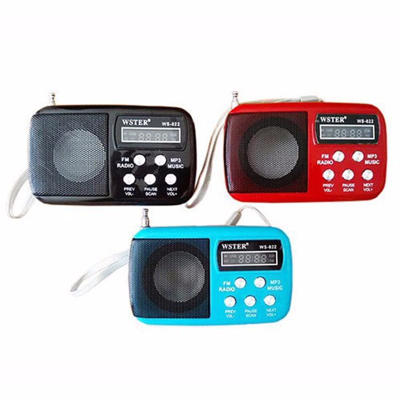 RADIO - MÁY NGHE NHẠC WS822 5
