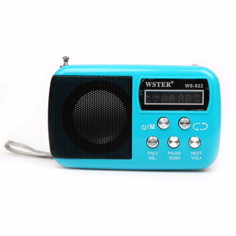RADIO - MÁY NGHE NHẠC WS822 4