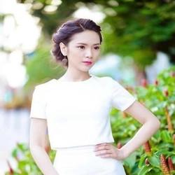 Áo kiểu nữ ngắn tay thiết kế đơn giản dễ thương AKN359