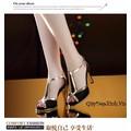Sản phẩm: Giày cao gót hở mũi TRENDY