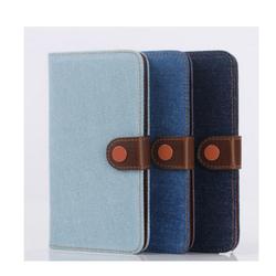 Samsung Galaxy Note 4 - Bao da chất liệu vải bò cho điện thoại