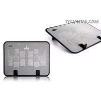 Đế tản nhiệt hai quạt Notebook Cooler N14 - GD040