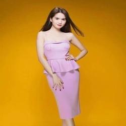 Đầm body peplum 2 dây xinh đẹp như Ngọc trinh DOV762