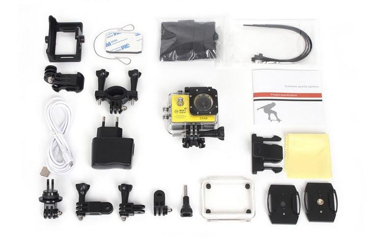 Camera hành trình HD1080 SPORT CAM A19 có WIFI - Trắng 4