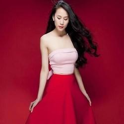 Áo kiểu nữ cúp ngực đính nơ sau lưng sexy xinh đẹp AKN357