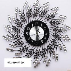 Đồng hồ treo tường lá nghệ thuật