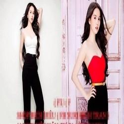 Áo nữ cúp ngực quyến rũ dễ phối quần sành điệu AKN370
