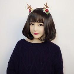 tóc giả nữ ngắn có da đầu